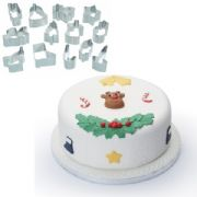 Christmas Fondant Cutters (Set of 13)